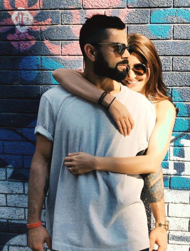 CUTE! Anushka Sharma and Virat Kohli cuddle up in London