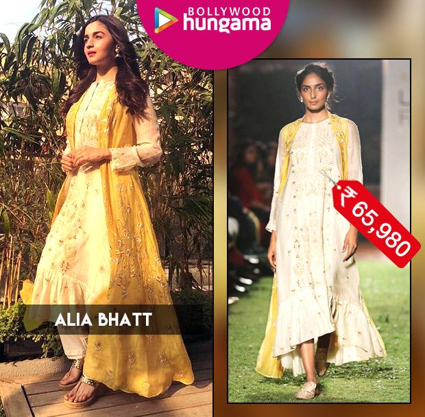 Celebrity Splurges - Alia Bhatt