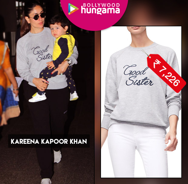 Celebrity Splurges - Kareena Kapoor Khan (Sweater)