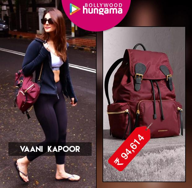 Celebrity Splurges - Vaani Kapoor