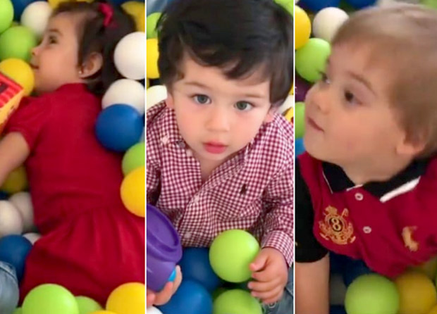 Cuteness Overload Taimur Ali Khan, Yash and Roohi Johar's play date is sure to chase away your Monday blues