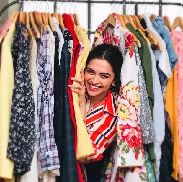 Deepika Padukone's peek-a-boo moment is giving us some serious wardrobe goals