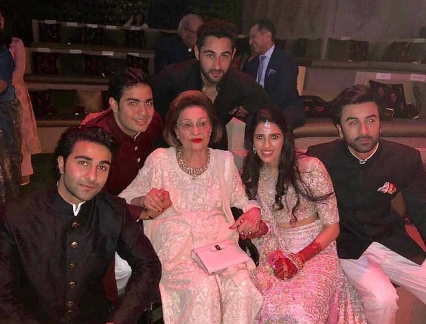 ALL inside pics Shah Rukh Khan, Ranbir Kapoor - Alia Bhatt, Aishwarya Rai Bachchan all under the same roof for Akash-Shloka engagement at the Ambani house!