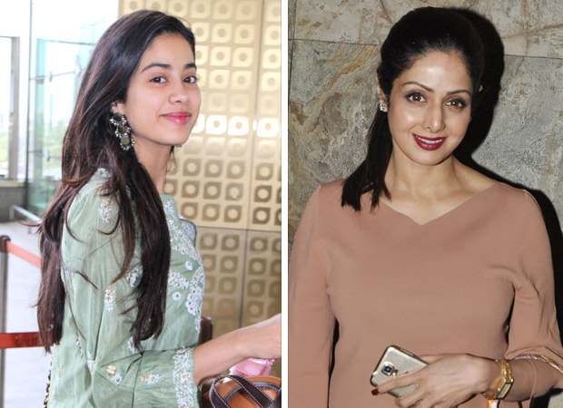 Is Janhvi Kapoor being compared unfavourably with her mother the late Sridevi