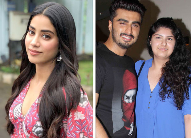 Janhvi Kapoor talks about Arjun Kapoor and Anshula Kapoor being the strength of the family after Sridevi's demise