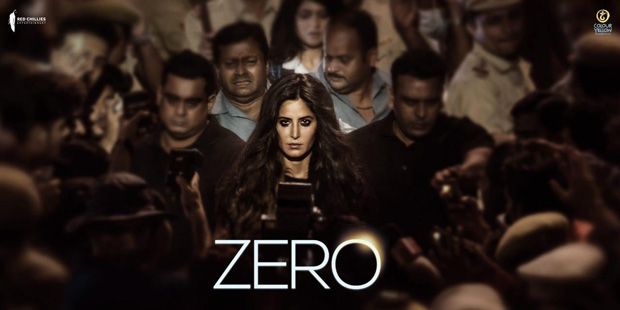 Katrina Kaif looks intense in the Zero first look; Shah Rukh Khan unveils it with a special message