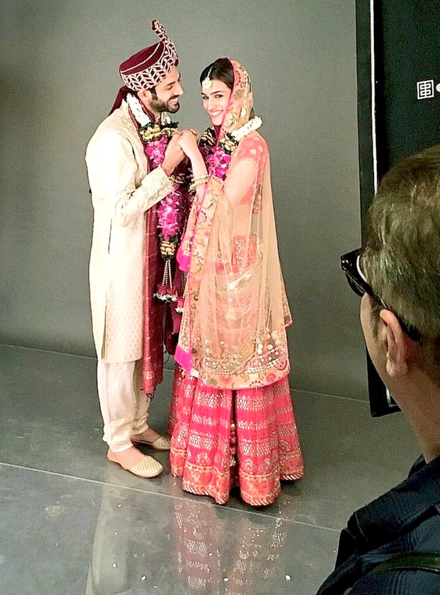 LEAKED! Kartik Aaryan and Kriti Sanon are bride and groom in the look test of Luka Chuppi