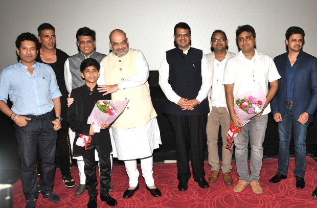 Mahaveer Jain & Bhushan Kumar host a special screening of 'Chalo Jeete Hain'