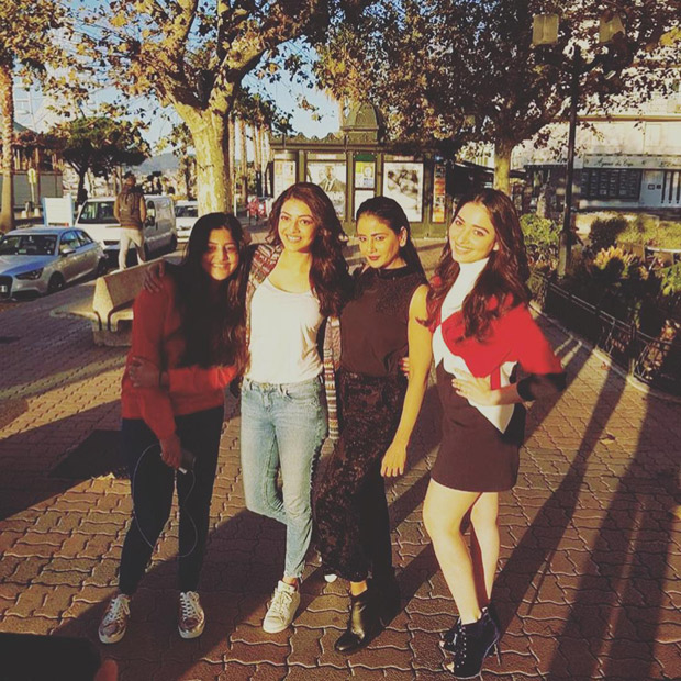 Paris Paris wrap up! Kajal Aggarwal and others wrap up all four South remakes of Queen in Europe