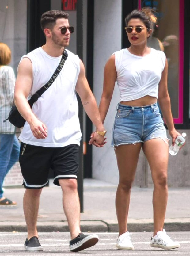 Priyanka Chopra spends 4th of July with beau Nick Jonas and his family; goes cycling with Nick, Joe Jonas and Sophie Turner