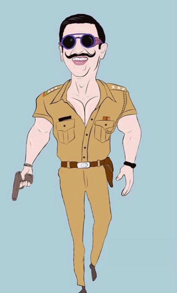 SIMMBA Ranveer Singh as a caricature quirky cop in Rohit Shetty's entertainer will surely make you go ROFL