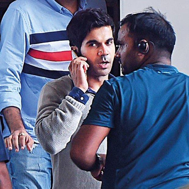 Sonam Kapoor and Rajkummar Rao shoot at Gurgaon metro station for Ek Ladki Ko Dekha Toh Aisa Laga