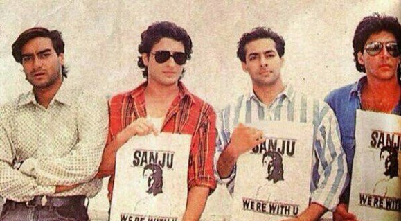 Throwback When Bollywood had composed a sympathetic song for Sanjay Dutt during his first jail stint