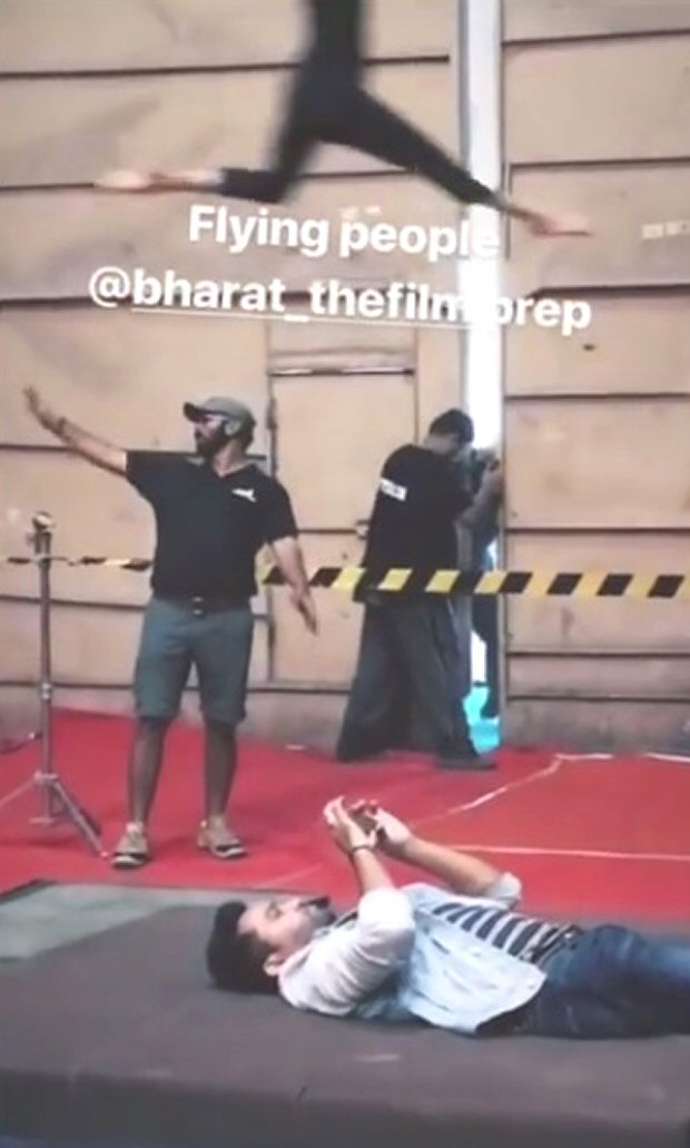 WATCH: Ali Abbas Zafar begins circus prep with aerial acts for Salman Khan – Priyanka Chopra starrer Bharat