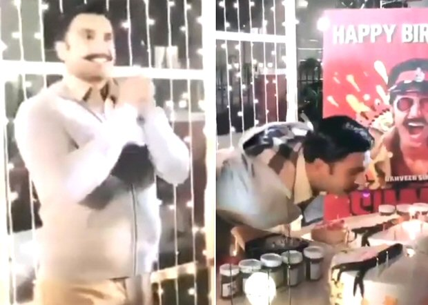 WATCH: Ranveer Singh celebrates his birthday on the sets of Rohit Shetty's Simmba in Hyderabad