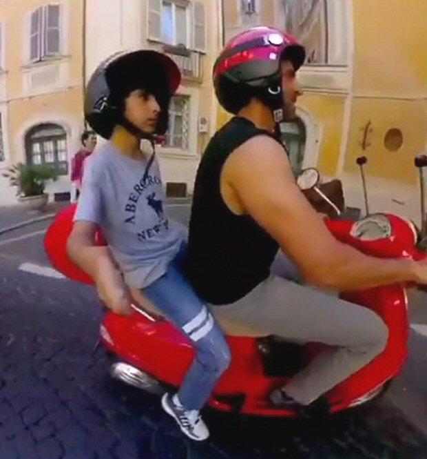 Watch Doting father Hrithik Roshan's holiday with his kids is giving us vacation goals