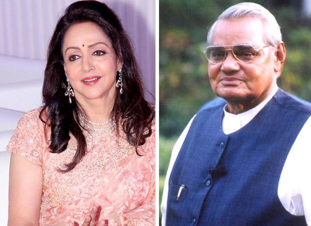 """Atalji contributed a lot to my film Kranti,"" Hema Malini on Atal Bihari Vajpayee"