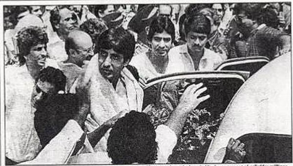 36 years after unfortunate Coolie accident, Amitabh Bachchan thanks fans for their prayers that kept him alive
