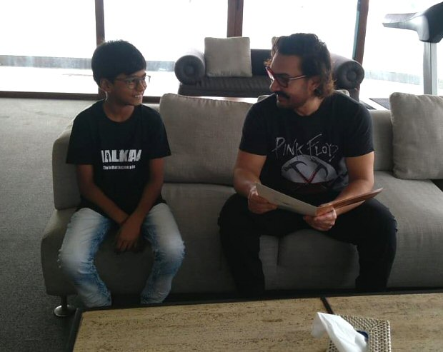 Aamir Khan impressed with the acting skills of this child actor and here's his sweetest note for the boy
