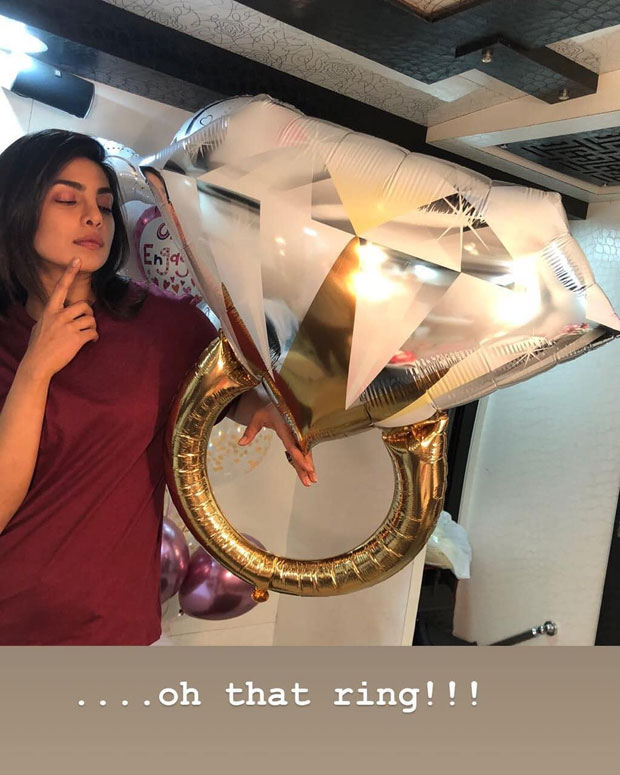 After being engaged to Nick Jonas, Priyanka Chopra somehow ends up with another massive ring