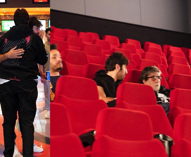 Amitabh Bachchan and Ranbir Kapoor take a break from Brahmastra shooting to watch Tom Cruise starrer Mission: Impossible - Fallout
