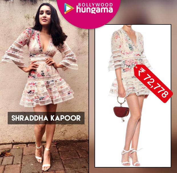 Celebrity Splurges - Shraddha Kapoor