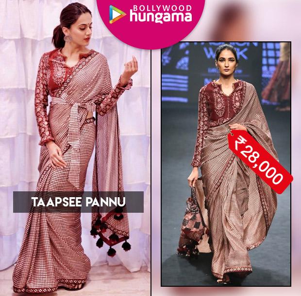 Celebrity Splurges - Taapsee Pannu