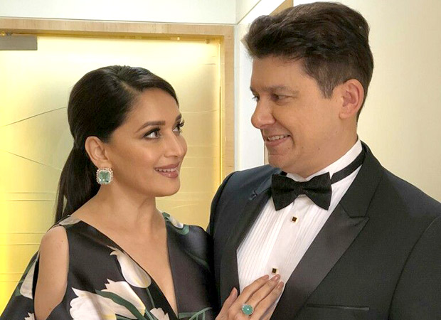 Coincidence much! Madhuri Dixit and hubby Sriram Nene's debut Marathi production 15th August completes shoot on the same date