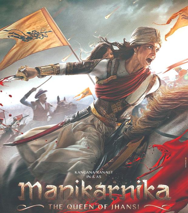 Here's the first Look poster of Kangana Ranaut starrer Manikarnika - The Queen Of Jhansi
