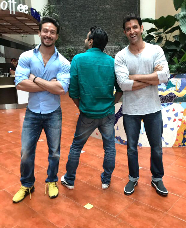 BREAKING: Hrithik Roshan – Tiger Shroff kick off the YRF project with a puja