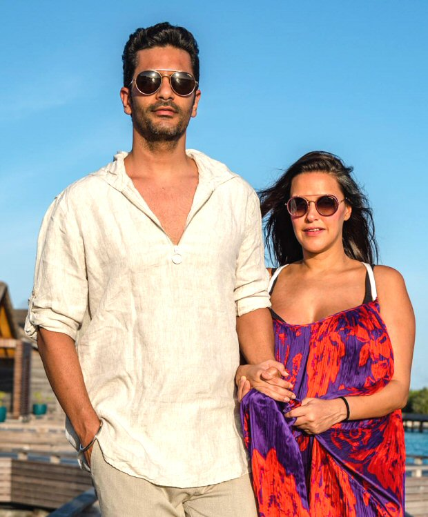 IN LOVE: Angad Bedi and Neha Dhupia take off on a fun-filled and romantic honeymoon [see pics]