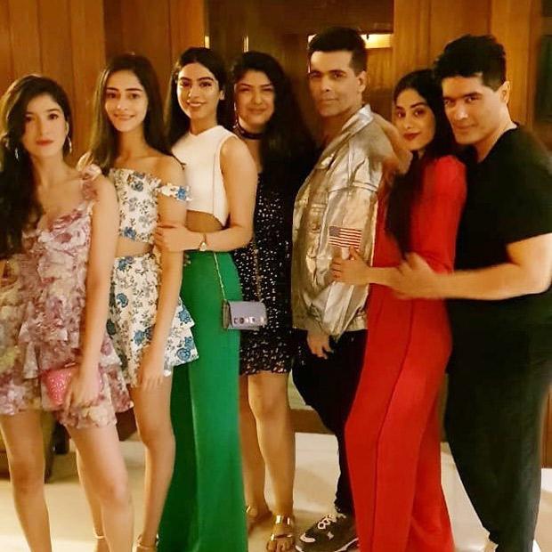 INSIDE PICS: Priyanka Chopra, Janhvi Kapoor, Sara Ali Khan, Khushi Kapoor, Karan Johar party hard at Manish Malhotra's bash
