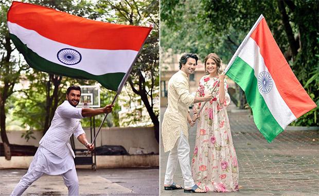 Independence Day 2018 Shah Rukh Khan, Salman Khan, Ranveer Singh, Varun Dhawan, Deepika Padukone, Priyanka Chopra and others celebrate the spirit of India