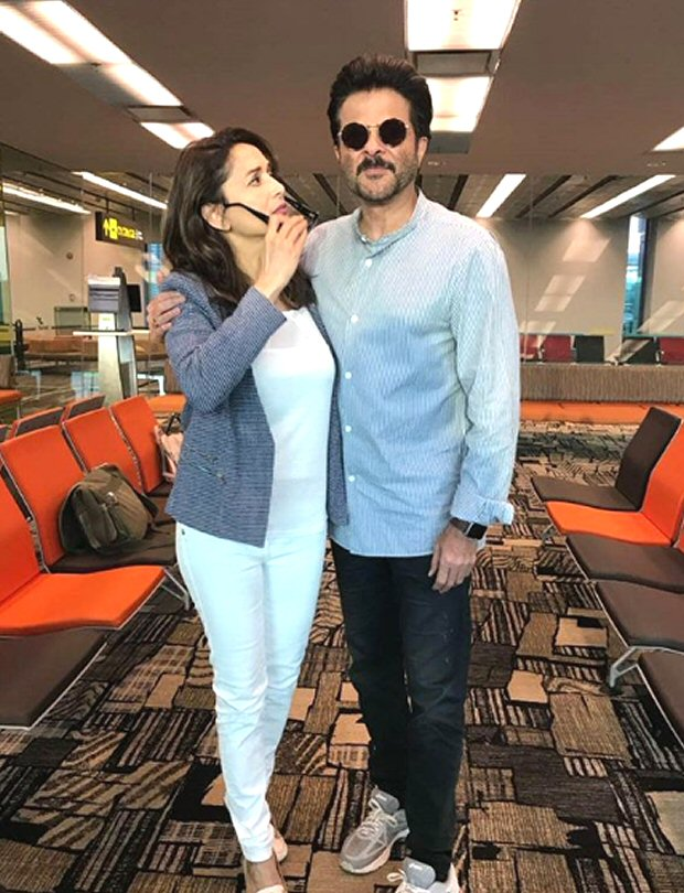Jhaakas Jodi Anil Kapoor and Madhuri Dixit are pure FIREWORKS even today, this rendezvous is a proof (see picture)