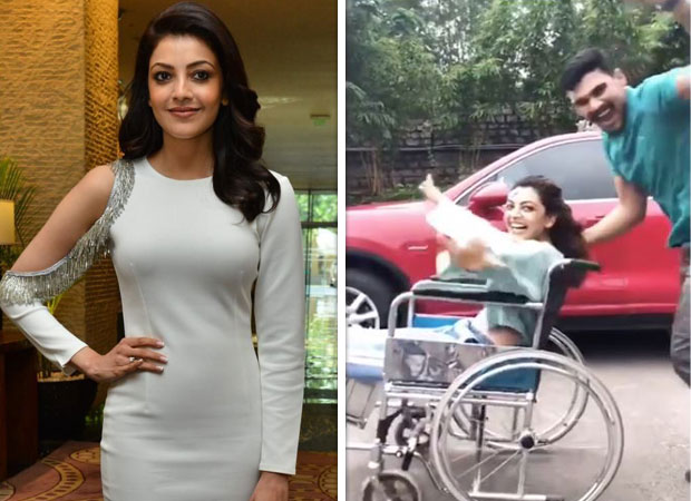 Kajal Aggarwal takes up the KIKI challenge but with a twist and she has a message for all [watch video]