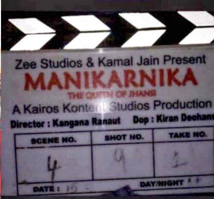 Kangana Ranaut takes over as DIRECTOR of Manikarnika (Read statement)