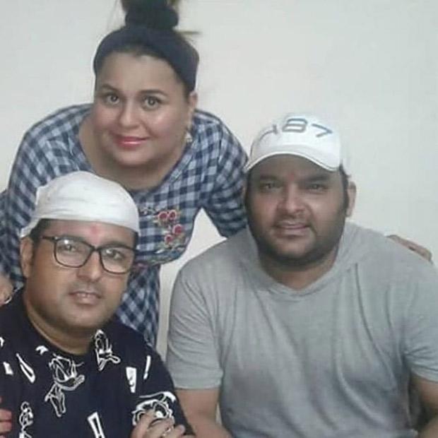 Kapil Sharma snapped during Raksha Bandhan; the comedian looks shockingly different