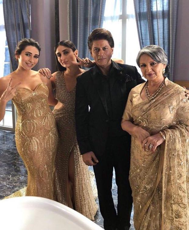 Kareena Kapoor Khan and Karisma Kapoor for Lux Ad-shoot (3)