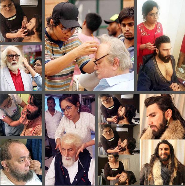 REVEALED: Make-up secrets behind the looks of Ranveer Singh in Padmaavat and Rishi Kapoor in Mulk