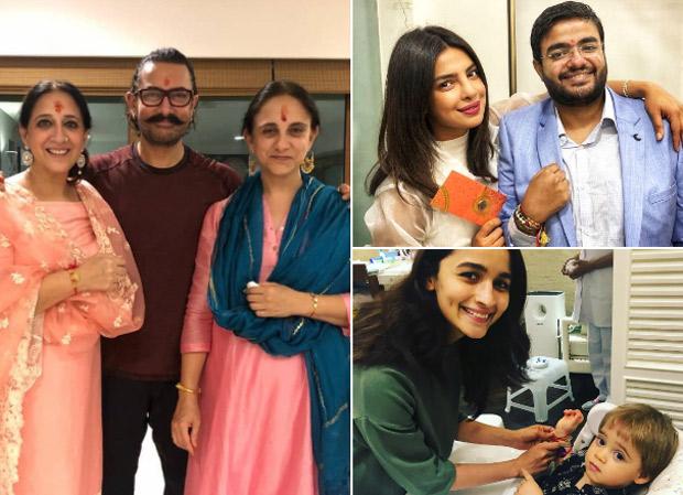 Rakshabandhan 2018 Priyanka Chopra, Aamir Khan, Alia Bhatt, Kartik Aaryan, Saif Ali Khan show some sibling love