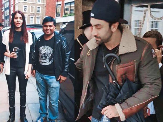 Ranbir Kapoor joins Ae Dil Hai Mushkil co-star Anushka Sharma and Virat Kohli in Birmingham for lunch