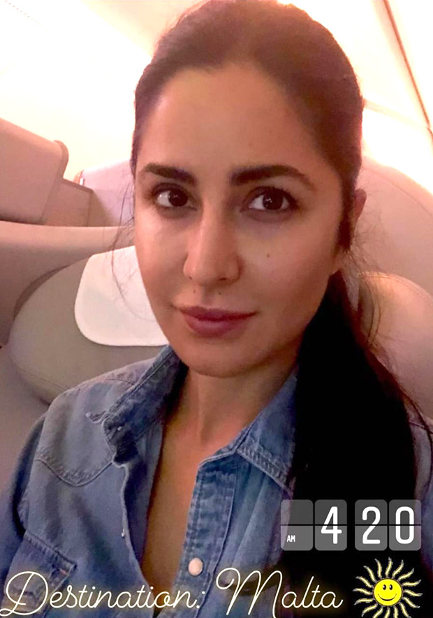 SELFIE ALERT: Katrina Kaif flies off to Malta to join Salman Khan in Bharat schedule