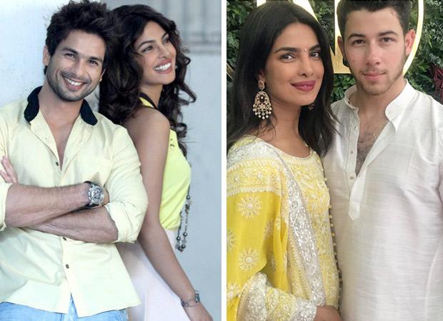 Shahid Kapoor congratulates Priyanka Chopra on her engagement with Nick Jonas