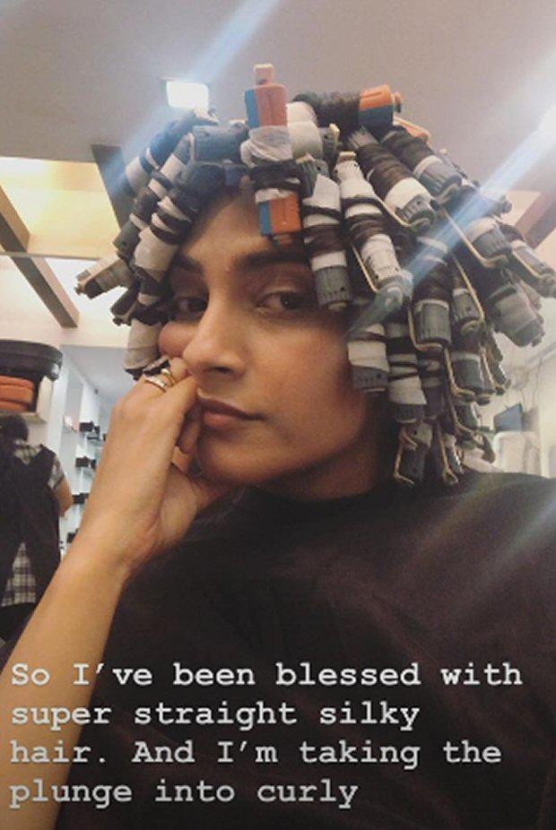The Zoya Factor Sonam Kapoor Goes For Permanent Curls