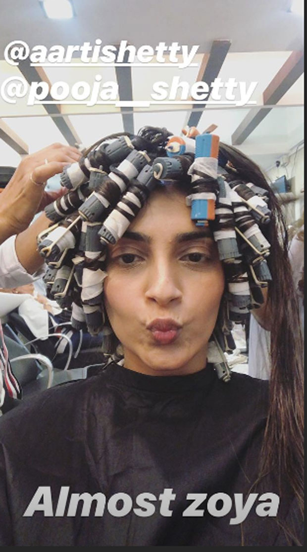 The Zoya Factor: Sonam Kapoor goes for permanent curls, gives a sneak peek into a transformation (see pics and video)