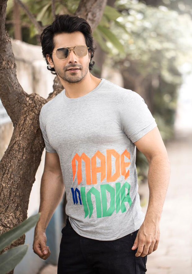 Varun Dhawan launches Made In India collection from his clothing line 'Dhawan and Only'
