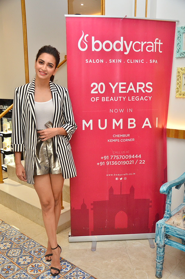 Kriti Kharbanda in Forever 21 and Zara for a salon opening in Mumbai (5)