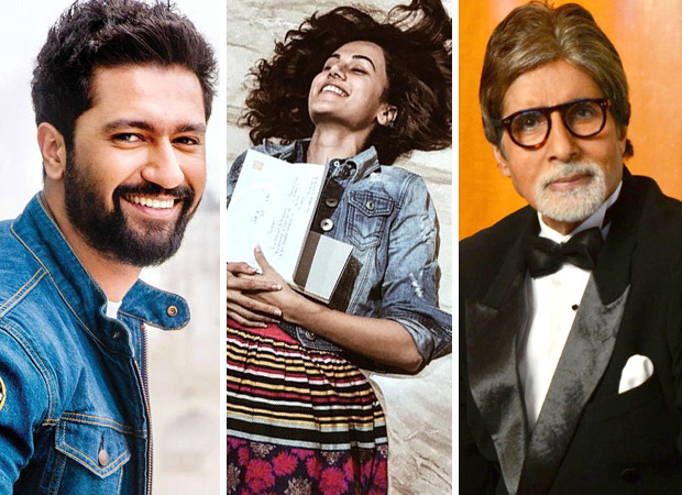 Manmarziyaan stars Vicky Kaushal and Taapsee Pannu are ELATED beyond belief upon receiving letters from Amitabh Bachchan!