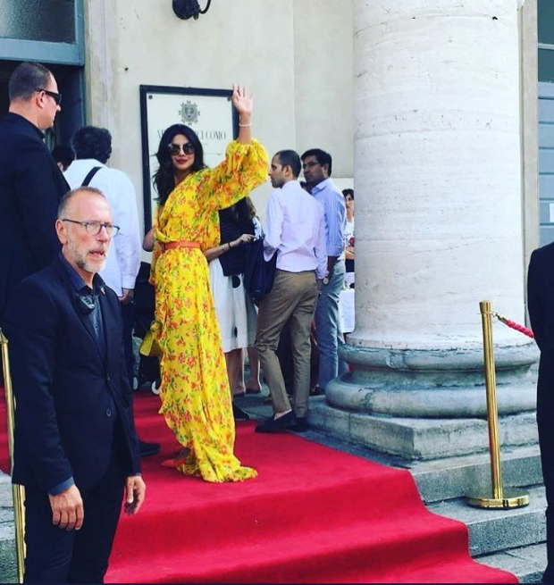 Priyanka Chopra in Italy