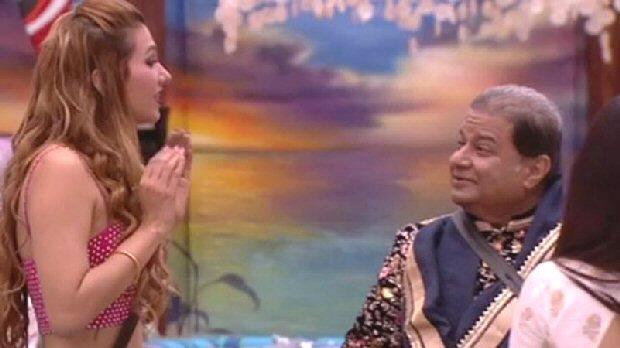 Rakhi Sawant's take on Bigg Boss 12 Jasleen Matharu will leave Anup Jalota; but Rakhi promises to be his next girlfriend (watch video)